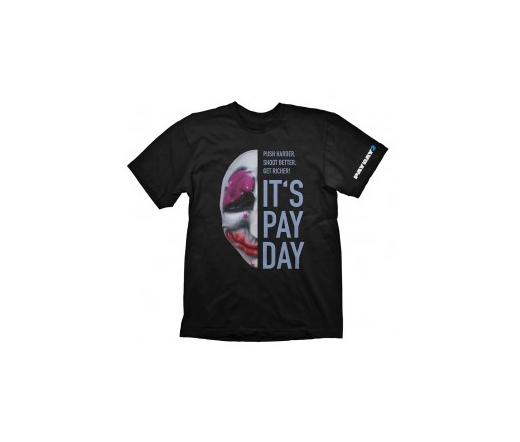 "Payday 2 T-Shirt ""Hoxton Mask"", L"