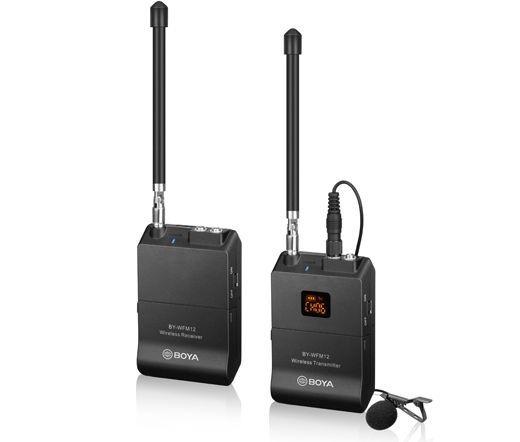 Boya BY-WFM12 VHF vezeték nélküli adó-vevő