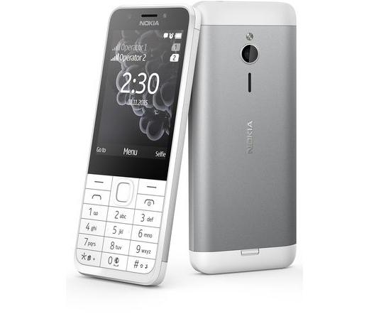Nokia 230 Dual SIM fehér