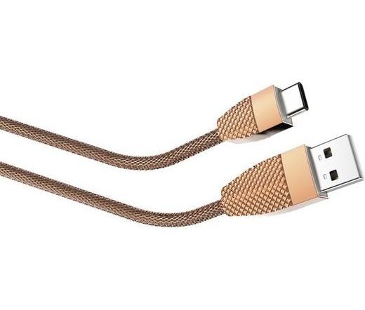 Hama USB 2.0 Type-C / A ananászszínű 1m