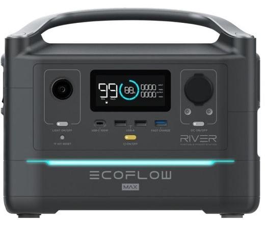 EcoFlow River Max hordozható erőmű