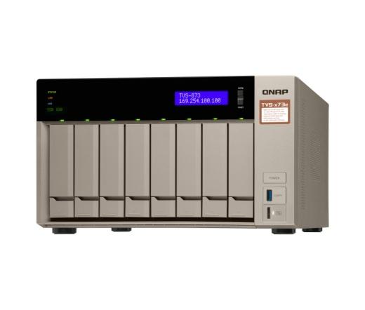 Qnap TVS-873E-8G 8GB RAM Nas