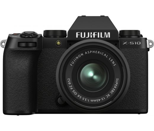 Fujifilm X-S10 XC15-45mm fekete kit