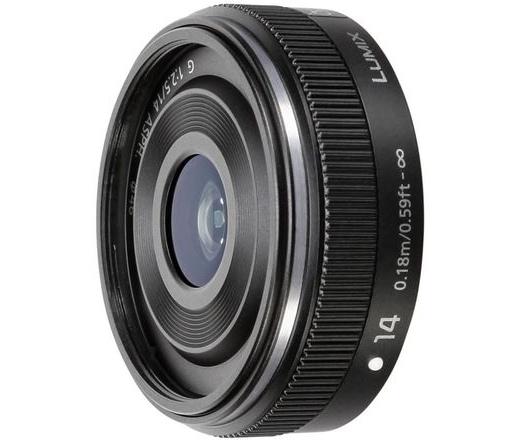 Panasonic LUMIX G 14 mm / F2.5 II ASPH. fekete
