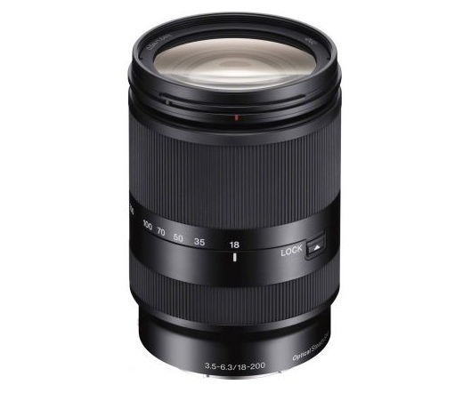 Sony E 18–200 mm F3.5–5.6 OSS LE