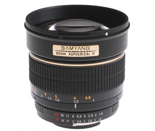 Samyang 85mm f/1.4 IF Aspheric (Canon)