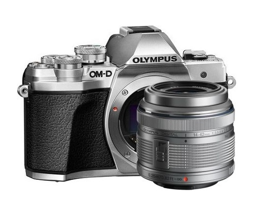 Olympus E-M10 Mark III + 14-42mm II R kit ezüst