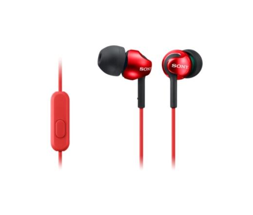 Sony MDR-EX110AP piros