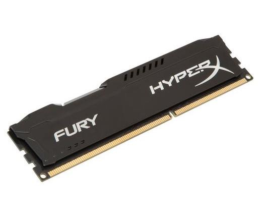 Kingston HyperX Fury 1600MHz 4GB CL10 fekete
