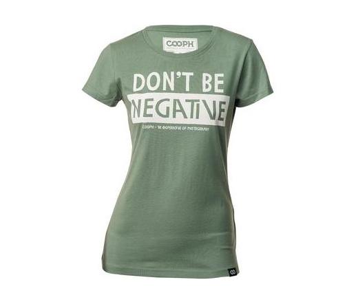 Cooph női póló Don't Be babérkoszorú S