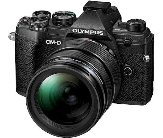 Olympus E-M5 Mark III 12-40mm Pro kit fekete