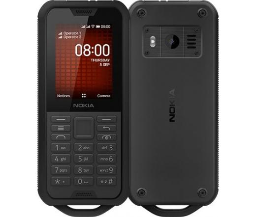 Nokia 800 Tough Fekete