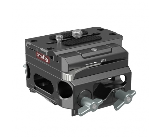 SMALLRIG Lightweight Baseplate with Dual 15mm Rod
