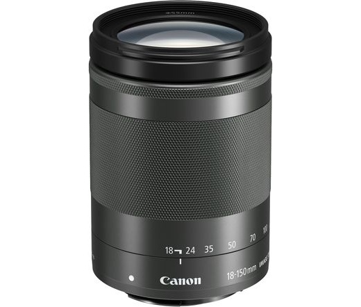 Canon EF-M 18-150mm f/3.5-6.3 IS STM fekete