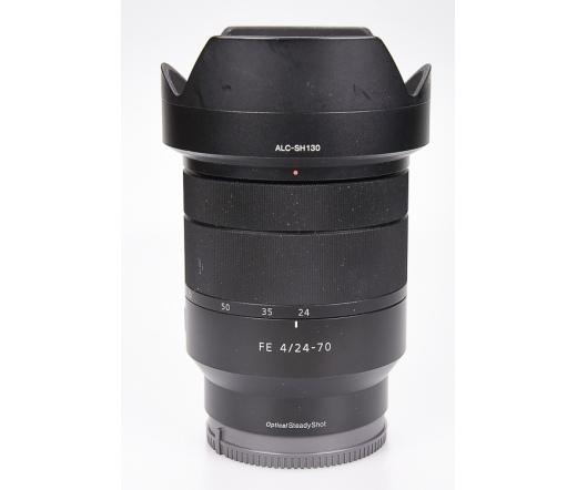 Használt Sony  24-70mm f/4 FE ZA OSS objektív E ba