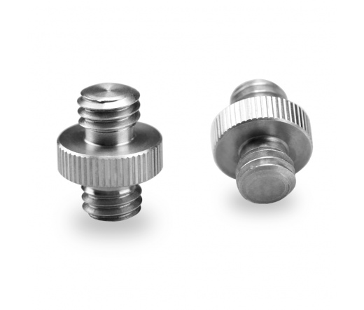 """SMALLRIG Double Head Stud 2pcs pack with 3/8"""" to 3"""