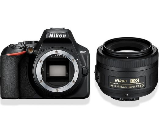 Nikon D3500 + AF-S DX 35mm f/1.8