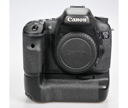 Használt Canon EOS 7D + markolat sn:410401889