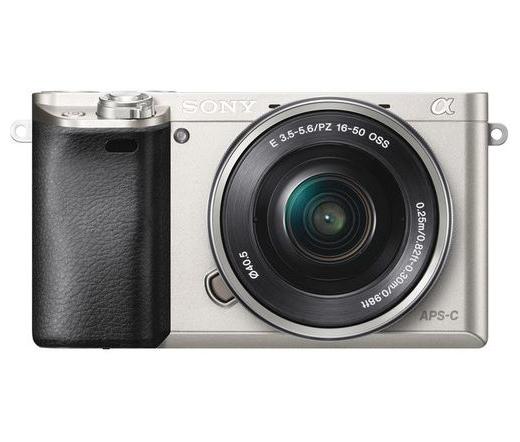 Sony Alpha 6000 Ezüst + 16-50mm Kit