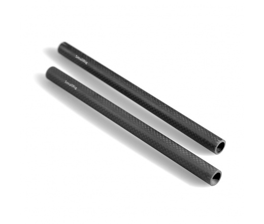 SMALLRIG 15mm Carbon Fiber Rod-22.5 cm 9 inch (2pc