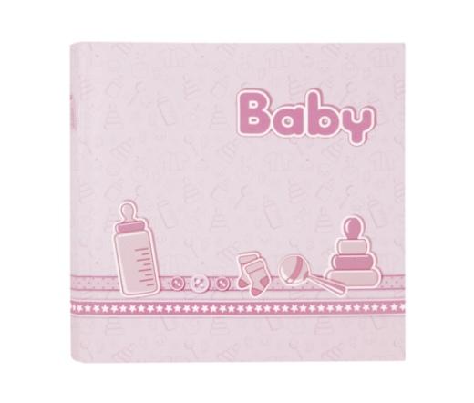ZEP Bebe pink  24x24 20 Pages Babyalbum