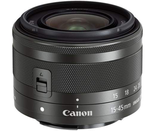 Canon EF-M 15-45mm f/3.5-6.3 IS STM grafit