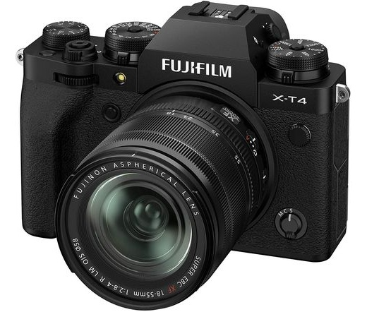 Fujifilm X-T4 fekete + 18-55mm f/2.8-4 R kit