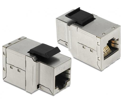 Delock keystone modul RJ45 anya > RJ45 anya Cat.6A