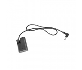SMALLRIG DC5521 to LP-E6 Dummy Battery Charging Ca
