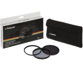 Polaroid szűrőszett (UV, CPL, ND8) 67mm + tok