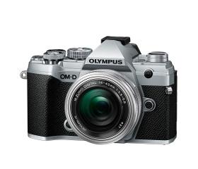 Olympus E-M5III 1442EZ Pancake Zoom Kit ezüst/ezüs