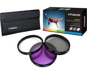 Polaroid szűrőszett (UV, CPL, FLD) 52mm + tok