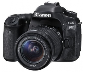 Canon EOS 80D + 18-55mm IS STM kit
