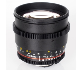 Samyang  85mm T1.5 VDSLR AS IF UMC II (Canon)