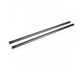 SMALLRIG 2pcs 15mm Black Aluminum Alloy Rod(M12-45
