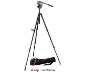 Manfrotto 755XB kit 128RC fej + MBAG80N táska