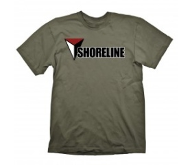 """Uncharted 4 T-Shirt """"Shoreline (Army)"""", L"""