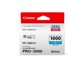 Canon PFI-1000 C Cián tintapatron