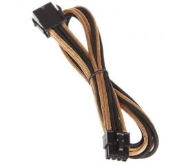BitFenix 8 tűs EPS12V hosszabbító 45cm arany/fek.
