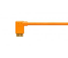 TetherPro USB 3.0 A male to Micro B Right Angle -