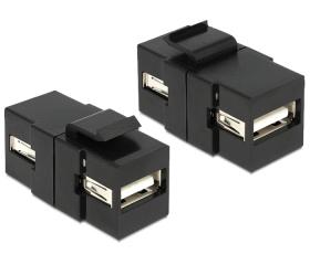 Delock Keystone modul USB 2.0 A anya / anya