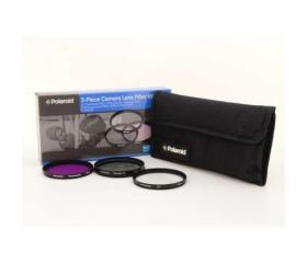 Polaroid szűrőszett (UV, CPL, FLD) + 4 db-os szűrő