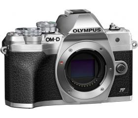 Olympus E-M10 Mark IV ezüst váz