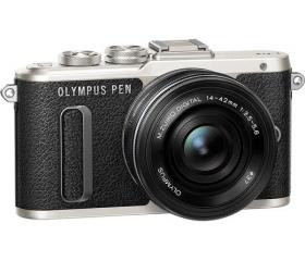 Olympus E-PL8 Pancake Zoom Kit 14-42mm fekete