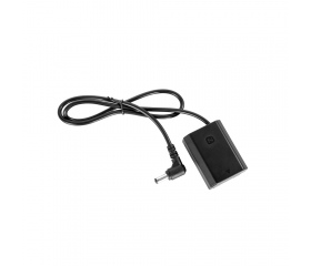 SMALLRIG DC5521 to NP-FZ100 Dummy Battery Charging