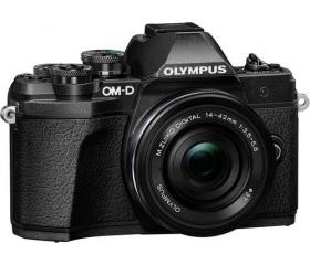 Olympus E-M10 Mark III pancake kit fekete