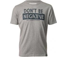 Cooph férfi póló Don't Be hangaszürke XL