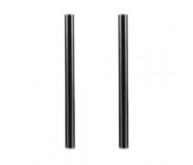 SMALLRIG 2pcs 15mm Black Aluminum Alloy Rod(M12-20