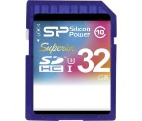 Silicon Power SDHC Superior UHS-I(U3) 32GB