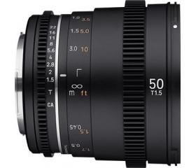 Samyang 50mm T1.5 VDSLR MK2 (Sony E)